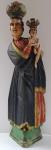 Větší dřevěná soška - Panna Marie Svatohorská