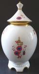 Art deco vase with lid - Neu Rohlau