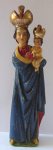 The wooden statue of the Virgin Mary Svatohorska