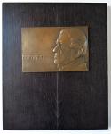 Bronzová plaketa s Františkem Palackým - František Anýž
