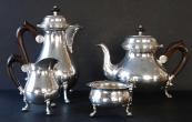 Stříbrná stolní souprava - Gayer & Krauss, Schwäbisch Gmünd