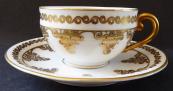 Coffee cup with gilding - Julius Edelstein, Küps