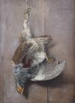 Josef Kaderabek - Hunting still life, partridge