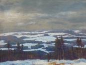 Alois Janeček Pardubský - Zimní krajina