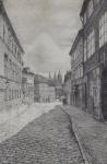František Zimmerhansl - Loretánská ulice na Hradčanech