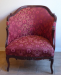 Armchair in baroque style - Fauteuil Bergere