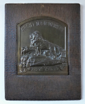 Plaque, Our Legionnaires - bronze patina