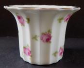 Porcelánový květináček, s růžemi - Rosenthal