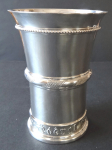 Silver cup with the inscription Fribourg - Jezler, Switzerland, year 1934