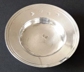 Silver small bowl - Wakely & Wheeler, London