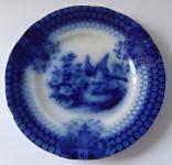 Modrý talířek s ptáčkem a květinami - India, Villeroy & Boch