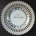 Porcelánový talíř ke stříbrné svatbě - Carl Schumann, Arzberg
