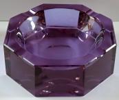 Popelník z alexandritového skla - Moser