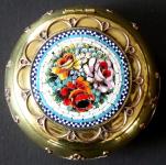 Mosazná krabička s benátskou mozaikou