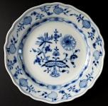 Menší míšeňský talířek, cibulový vzor