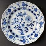 Míšeňský talířek, cibulový vzor