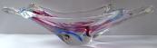 Mísa z hutního skla - Max Verboeket, Kristalunie Maastricht
