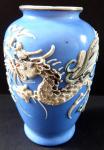 Malá modrá vázička - šedivý čínský drak
