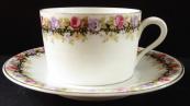 Moka šálek s květinovým věnečkem - Herbena
