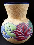 Secesní vázička s květy - Amphora, Trnovany u Teplic