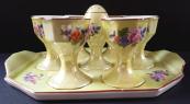 Servírovací porcelánový set na vajíčka - Jakubov