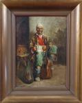 Bela Tölgyes - Muž s kytarou a džbánem