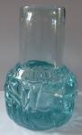 Čirá a světle modrá váza - František Vízner, rok 1975
