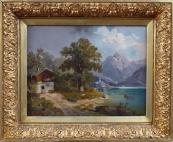 M. Brass - Projížďka loďkou na horském jezeru