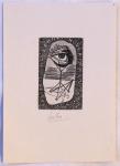 Josef Liesler - Ex libris Ing. Frant. Kovaříka