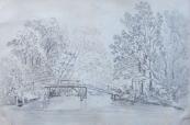 Most na rybniční ostrov