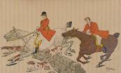 A. Fabatz - Jezdci na koních se psi
