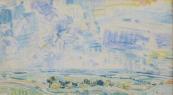Bohumír Dvorský - Vysoké nebe, Pohled do krajiny