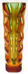 Ambrová váza se zeleným středem - Oldřich Lipský, Exbor