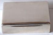Stříbrná krabička s mahagovaným dřevem - Rumunsko, Muntenia