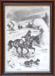 Emil Kotrba - Na vyjížďce s koněm a psi