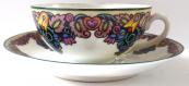 Malovaný dekorativní šálek - Alois Jaroněk, číslo vzoru 354