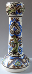 Váza, keramika, barevný ornament - Josef Živec, Kostelec nad Černými Lesy