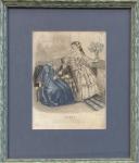 L Iris - Journal de Modes Paris, z roku 1852