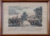 Poplach při pádu balónu 27. 8. 1783 v Gonesse ve Francii