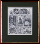 Ferdinand Zelinka - Sv. Jan Nepomucký, upomínkový list