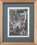 Johann Rudolph Störklin - Narození Ježíška ( Klanění pastýřů )