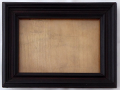 Obdélný stojánek na fotografii, tmavě hnědé dřevo
