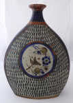 Keramická váza - Tonalá, Jalisco, Mexico