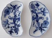 Dvě misky s cibulovým vzorem - Míšeň, Teichert