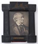 Rámeček s portrétem hudebního skladatele Richarda Wagnera