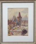 Alois Ježek - Mostecká věž, Karlův most v Praze