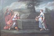 Franz Anton Fröhlich - Kristus se Samaritánkou u Jákobovy studny
