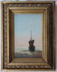 Baron Saamen - Plachetnice u mořského břehu