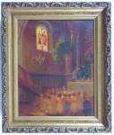 Josef Konečný - Slavnost Božího těla v kostele v Žarošicích