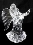 Skleněná socha anděla, křišťálové sklo